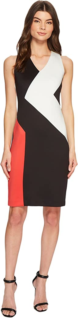 Calvin Klein - 3 Color Block Dress