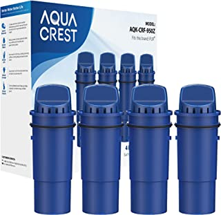 AQUACREST CRF-950Z Pitcher Water Filter, Compatible with Pur Pitchers and Dispensers PPT700W, CR-1100C, DS-1800Z and More...