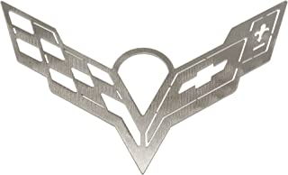 Corvette C7 Brushed Metal Ornament