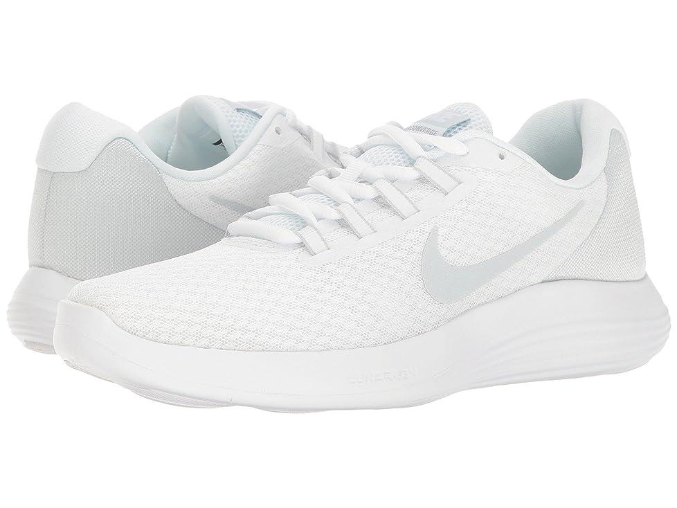 バリー砂シーボード(ナイキ) NIKE レディースランニングシューズ?スニーカー?靴 Lunar Converge White/Pure Platinum/Wolf Grey 9.5 (26.5cm) B - Medium