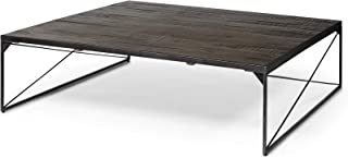 Mercana Furniture & Decor Wooden Trestman I by Mercana Coffee Table, (48