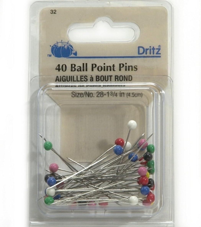 Dritz(R) Super Large Head Pins - Size 28 40/Pkg