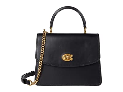 COACH Refined Calf Leather Parker Top-Handle