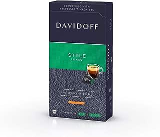 Davidoff Café Grande Cuvee Lungo Nespresso Compatible Capsules, Style, 55g