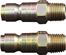"""Milton 1809 1/4"""" MNPT P Style Plug - Box of 10"""