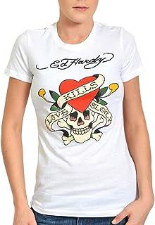 7bfd3854284 Ed Hardy Women s Love Kills Slowly Tee Shirt