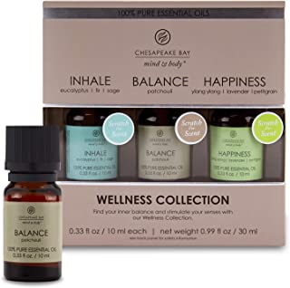Chesapeake Bay Candle 100% Pure Essential Diffuser Oils Wellness Set