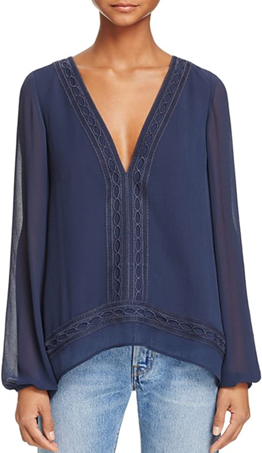 Finders Keepers Womens Maison Long Sleeve Top