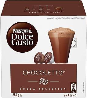 NESCAFÉ DOLCE GUSTO Chocoletto Coffee Capsules Box of 8 servings