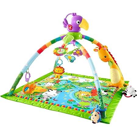 フィッシャープライス(fisher price) レインフォレスト・デラックスジムII 【0カ月~】【知育玩具】【布おもちゃ】DFP08
