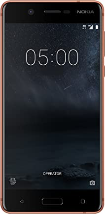 Nokia 5 16GB Android (GSM only, No CDMA) Factory Unlocked 4G/LTE Smartphone (Copper) - International Version
