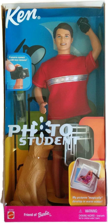 Photo Student Ken Barbie doll