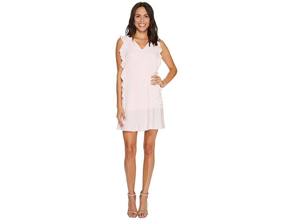 CeCe Harper Ruffle Dress (Rosy Glow) Women