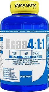 Yamamoto Nutrition BCAA 4:1:1 Suplemento Dietético - 200 Tabletas