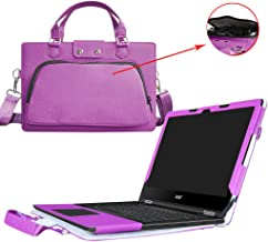 Acer Spin 5 13.3 inch Case,2 in 1 Accurately Designed Protective PU Leather Cover + Portable Carrying Bag For 13.3