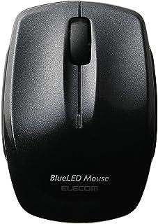 エレコム マウス Bluetooth (iOS対応) Sサイズ 小型 3ボタン 静音 クリック音95%軽減 コンパクト ブラック M-FBL3BBSBK