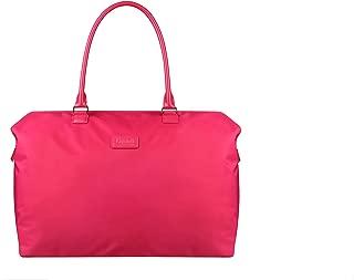 Lipault - Lady Plume Weekend Bag - Top Handle Shoulder Overnight Travel Duffel Luggage for Women - Tahiti Pink