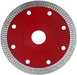 Super Thin Diamond Ceramic Saw Blade Porcelain Cutting Blade for Cutting Ceramic Or Porcelain Tile (5-Inch)