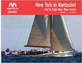 New York to Nantucket and to Cape May New Jersey MAPTECH® ChartKit Region 3 17th Edition