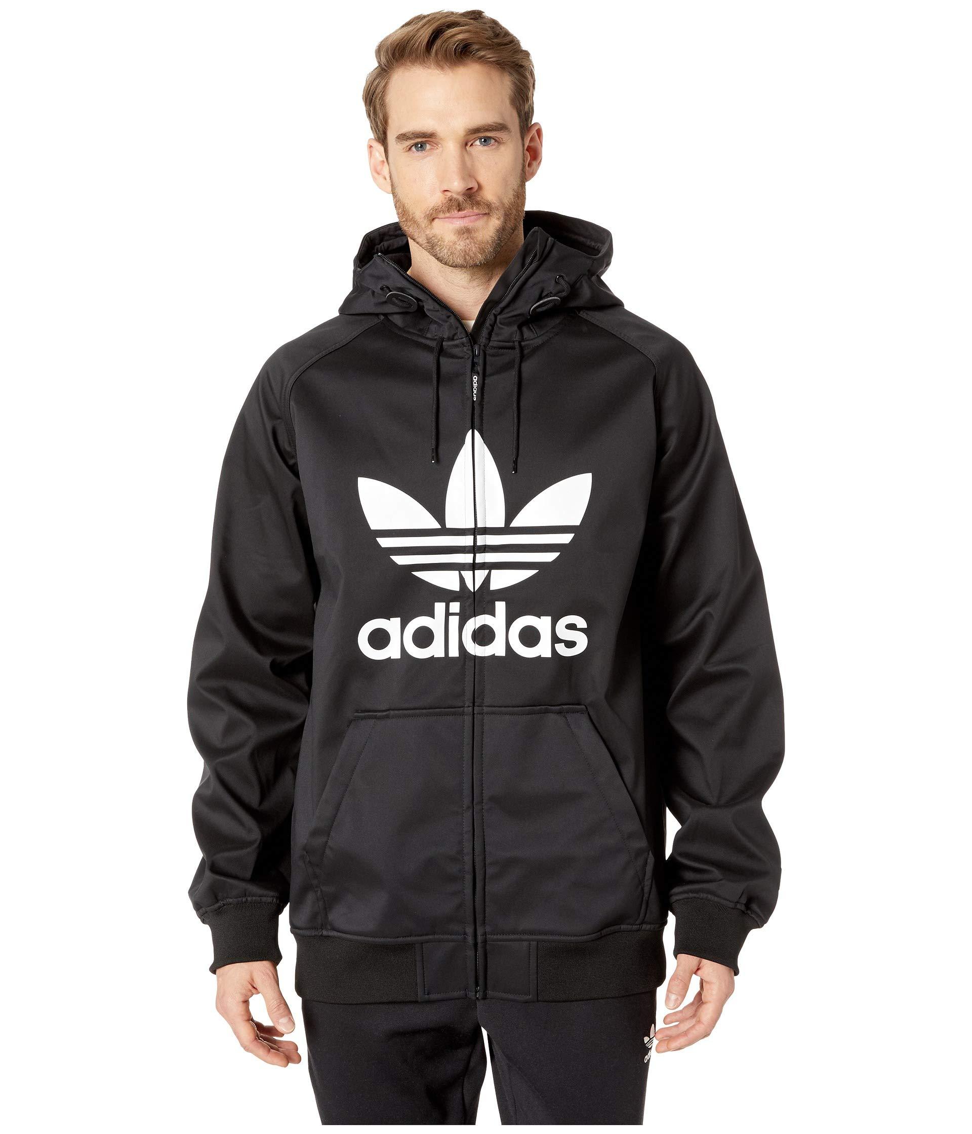 white Black Skateboarding Shell Soft Jacket Adidas Greeley faqYU