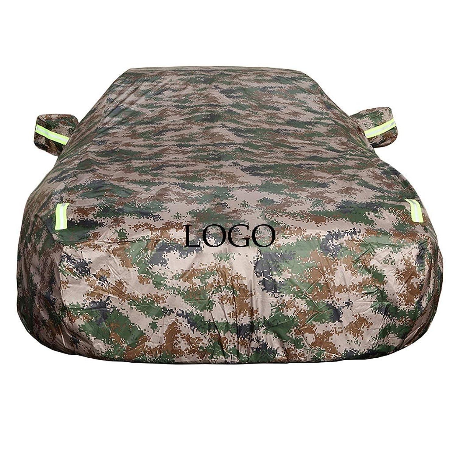 生命体パラナ川つまずくTOYOTA迷彩に合わせてロゴ防水夏と冬のカーカバーUVプロテクションカー服を着て車のカバー (Size : Mark X)