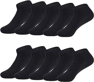 Calcetines de Deporte Low Cut Pro para Hombre Mujer y niño 10 Pares Oeko-Tex estándar 100 Calcetines Cortos Tobilleros Deportivos Zapatilla Transpirable