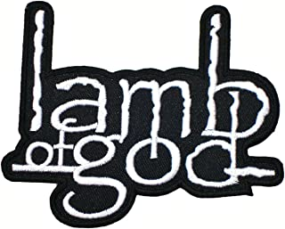 Lamb of God Band Songs t Shirts Logo ML10 Embroidery Iron on Patches