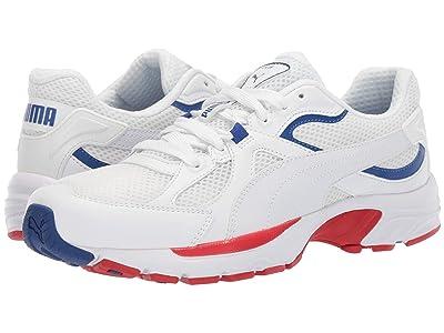 PUMA Axis Plus 90s (Puma White/Puma White) Shoes
