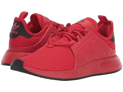 adidas Originals Kids X_PLR J (Big Kid) (Scarlet/White) Boys Shoes