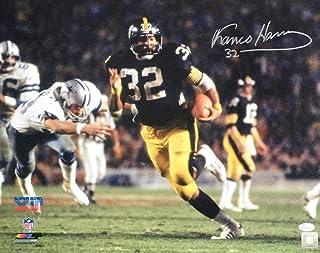 Franco Harris Signed 16x20 Pittsburgh Steelers Super Bowl XIII Photo JSA