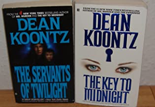 The Key To Midnight & The Servants of Twilight by Dean Koontz (2 Books)