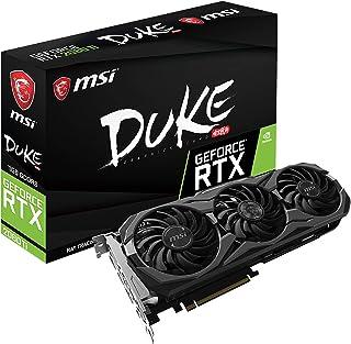 MSI Gaming GeForce RTX 2080 Ti GDRR6 352-bit HDMI/DP/USB Ray Tracing Turing Architecture Graphics Card (RTX 2080 TI Duke 1...