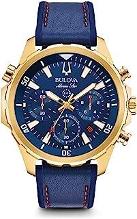 Bulova - Reloj Cronógrafo para Hombre de Cuarzo con Correa en Silicona 97B168