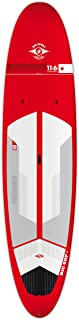 BIC Sport ACE-TEC Performer Sup Stand Up Paddleboard, Gloss Red/White/Grey, 11'6
