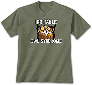 irritable owl syndrome t shirt