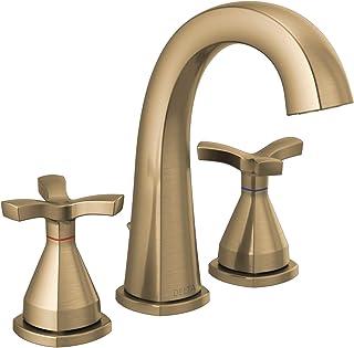 DELTA FAUCET 357756-CZMPU-DST Faucet Widespread, Champagne Bronze