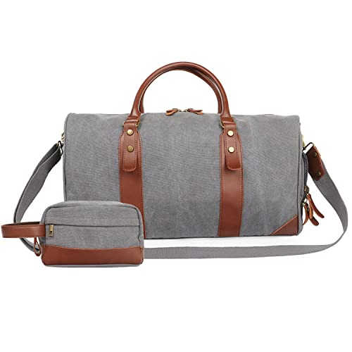 68aa24b3ad60 Large Overnight Bag Weekend Bag Holdalls for Women and Men