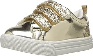 OshKosh B'Gosh Girls' Luana Sneaker, Gold, 8 M US Toddler