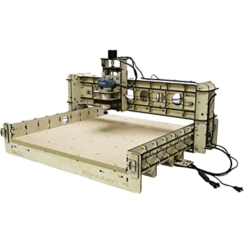 """BobsCNC Evolution 4 CNC Router Kit with the Router Included (24"""" x 24"""" cutting area and 3.3"""" of Z travel)"""