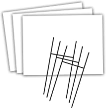 outdoor sign stakes