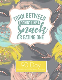 I'm torn between looking like a snack or eating one 90 Day Health and Wellness Tracker: Weight Loss Tracker Journal health...