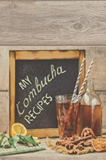 Kombucha Recipe Book Waiting To Be Filled With Your Kombucha, Kefir, Kimchi, Sauerkraut & Whole Food Fermented Recipes