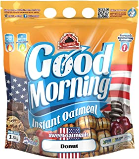 Max Protein - Good Morning Instant Oatmeal, Harina de avena