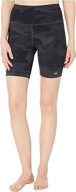 High-Waist Vapor Shorts