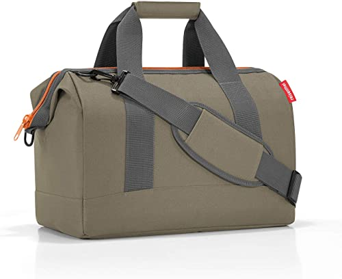reisenthel Allrounder M Bagage - Bagage de Cabine, 40x33,50x24 cm, Olive Green