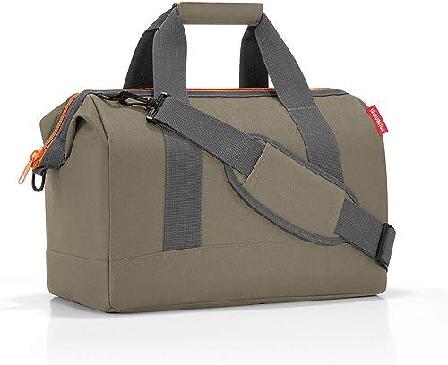 reisenthel Allrounder M Bagage- Bagage de Cabine, 40x33,50x24 cm, Olive Green