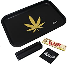 "Full Size Rolling Tray Bundle – 12"" x 8"" Tray + 110mm Rolling Machine + King.."