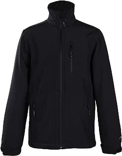 Big Boy's Windproof Softshell Zip-Front Fleece-Lined Jacket