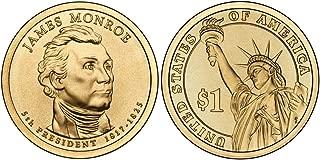 2008 P&D Martin Van Buren Presidential Dollar