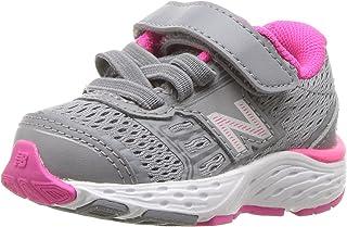 New Balance Kids' 680V5 Hook and Loop Running Shoe